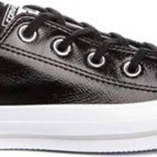 converse Converse Tenisky Chuck Taylor All Star Crinkled Patent Leather Černá