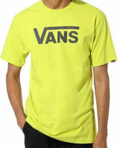 Žluté tričko vans