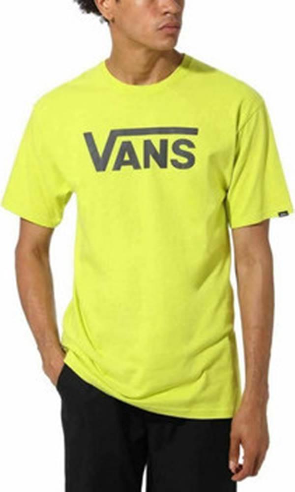 vans Vans Trička s krátkým rukávem classic Žlutá