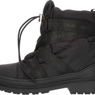 Liu Jo Kotníkové boty S68017T0011 Černá