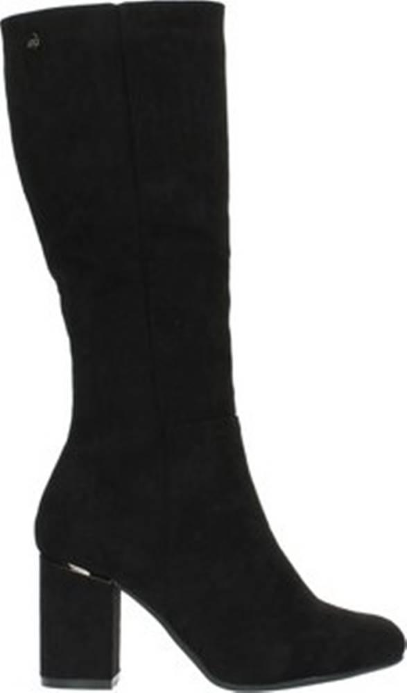 xti Xti Kotníkové boty 35121 Černá