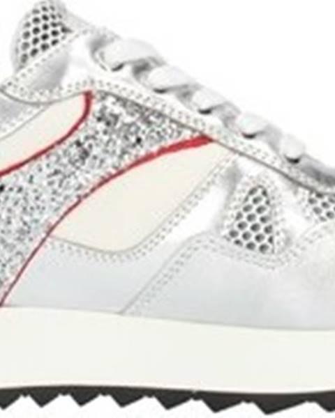 Stříbrné tenisky Nero Giardini