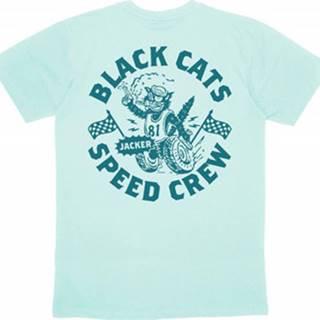 Jacker Trička s krátkým rukávem Speed cats Zelená