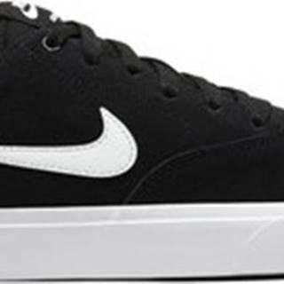 Nike Skejťácké boty sb charge suede Černá