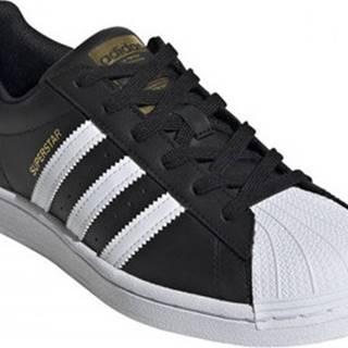 adidas Tenisky Superstar w Černá