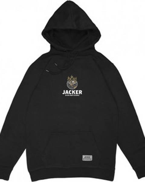 Jacker Jacker Mikiny Ashtray world Černá
