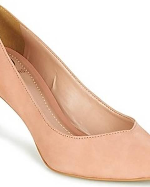 Béžové boty Dumond