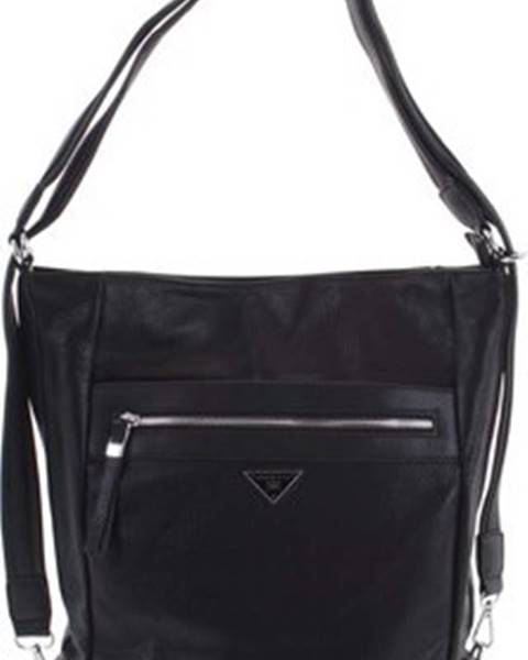 Černý batoh Romina Co. Bags