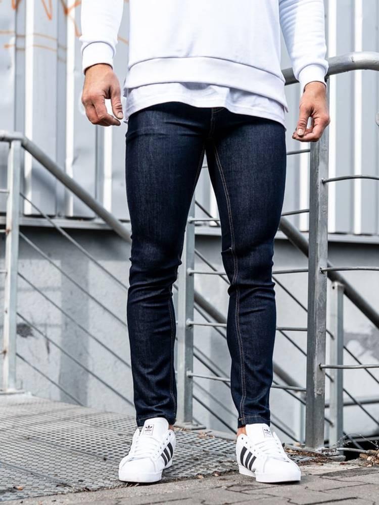 Inkoustové pánské džíny
