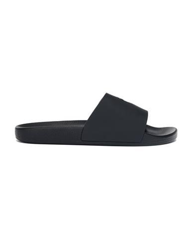 Černé pantofle Lamborghini