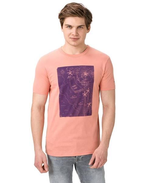 Růžové tričko pepe jeans