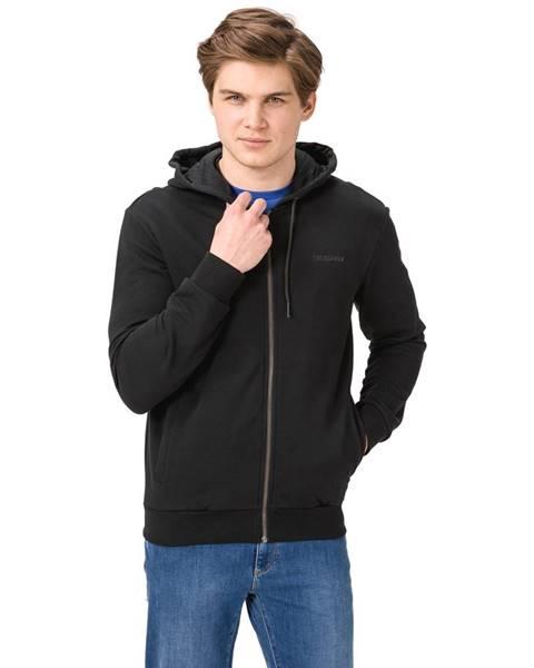 Černá mikina Trussardi Jeans