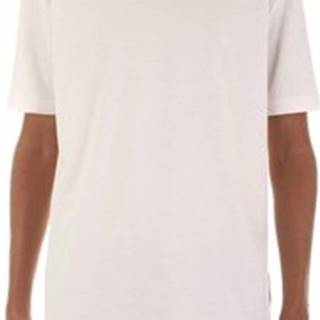 Calvin Klein Jeans Trička s krátkým rukávem K10K103333 Bílá