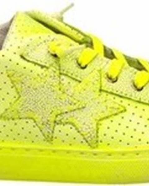 Žluté tenisky 2 Stars