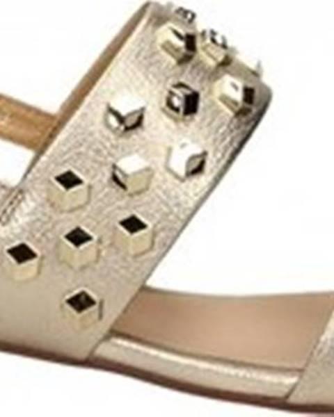 Zlaté sandály Adele Dezotti