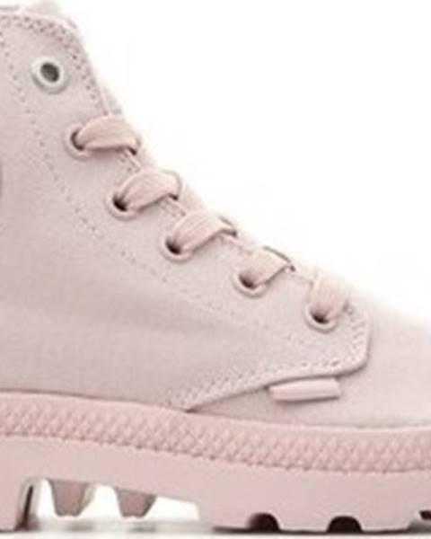 Růžové boty Palladium