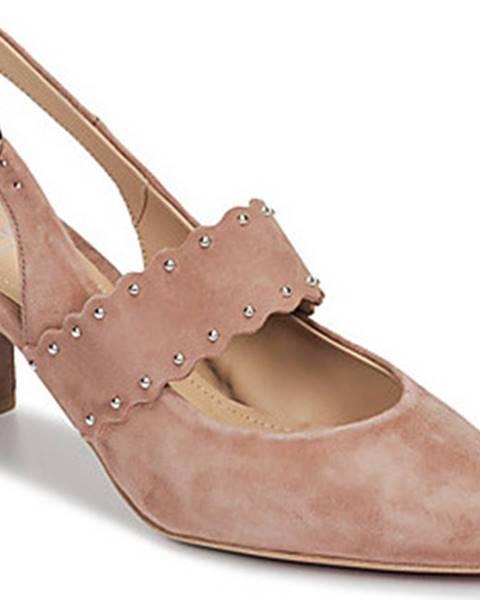 Růžové boty Perlato