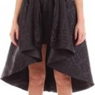 John Richmond Krátké šaty RWP20072VE Černá