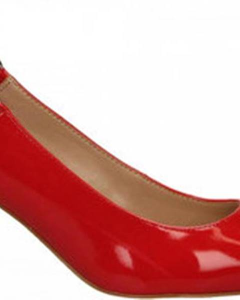 Červené sandály Guess