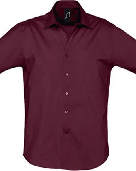 Fialová košile Sols