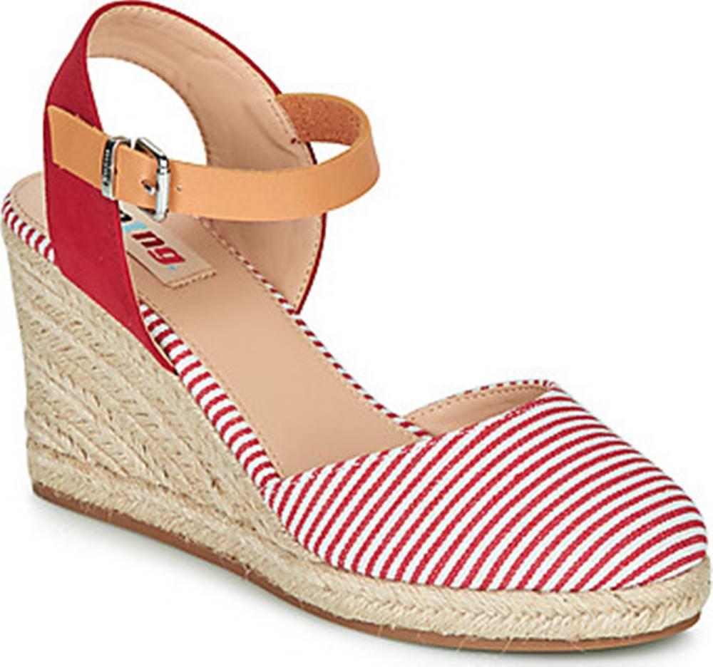 MTNG MTNG Sandály GELLA Červená