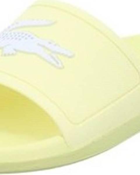 Žluté pantofle lacoste