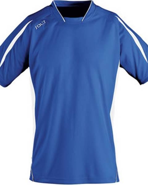 Modré tričko Sols