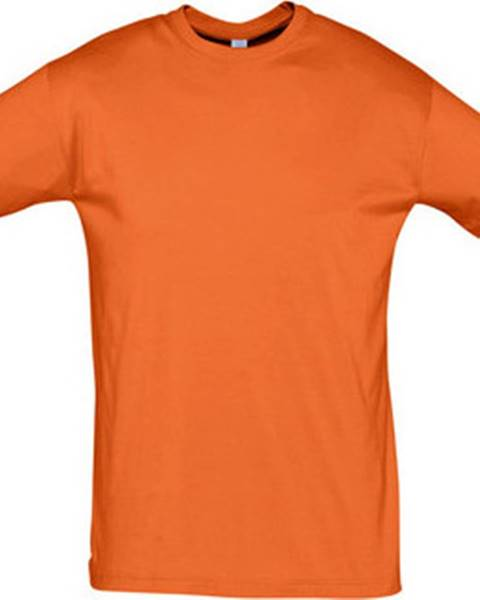Oranžové tričko Sols