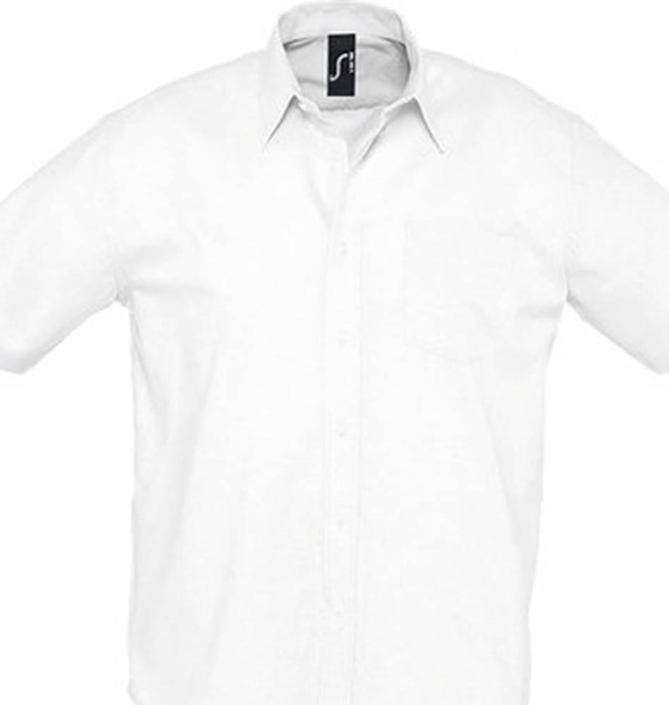 Sols Sols Košile s krátkými rukávy BRISBANE ORIGINAL WORK Bílá