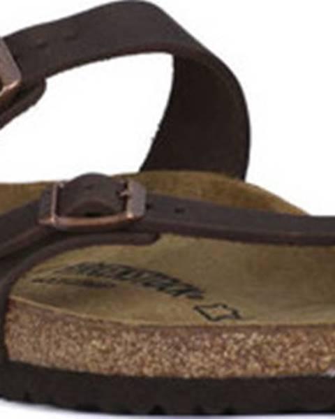 Hnědé pantofle Birkenstock