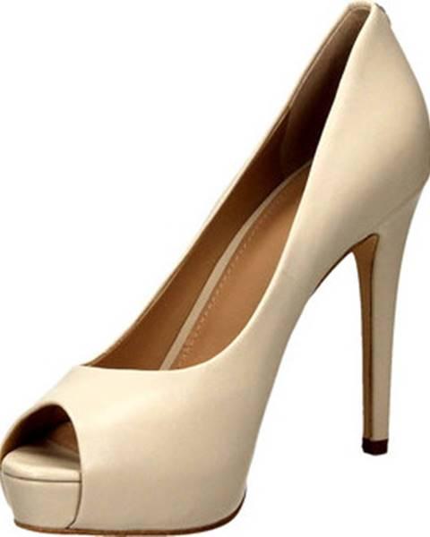 Bílé sandály Guess