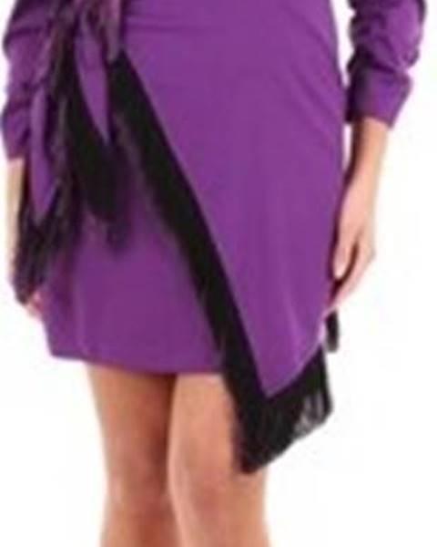 Fialové šaty Isabelle Blanche