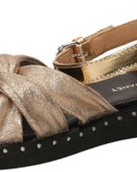 Zlaté sandály Janet Janet