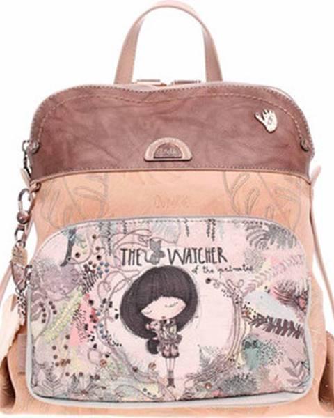 Béžový batoh Anekke