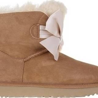 UGG Zimní boty Gita Bow Mini Hnědá