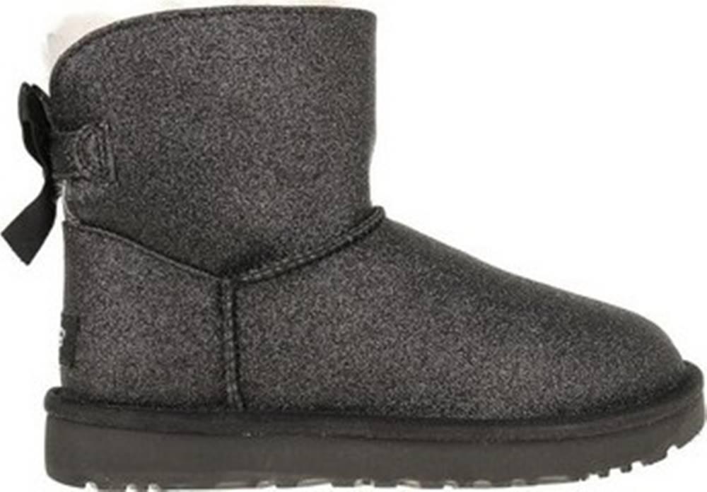 ugg UGG Zimní boty Mini Bailey Bow Sparkle Černá