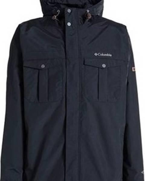 Černá bunda columbia