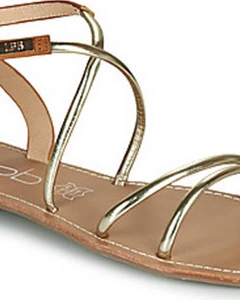 Zlaté sandály Les Petites Bombes
