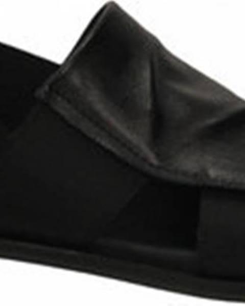 Černé sandály Tosca Blu