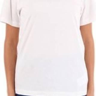 Mm6 Maison Margiela Trička s krátkým rukávem S52GC0113S21058 Bílá