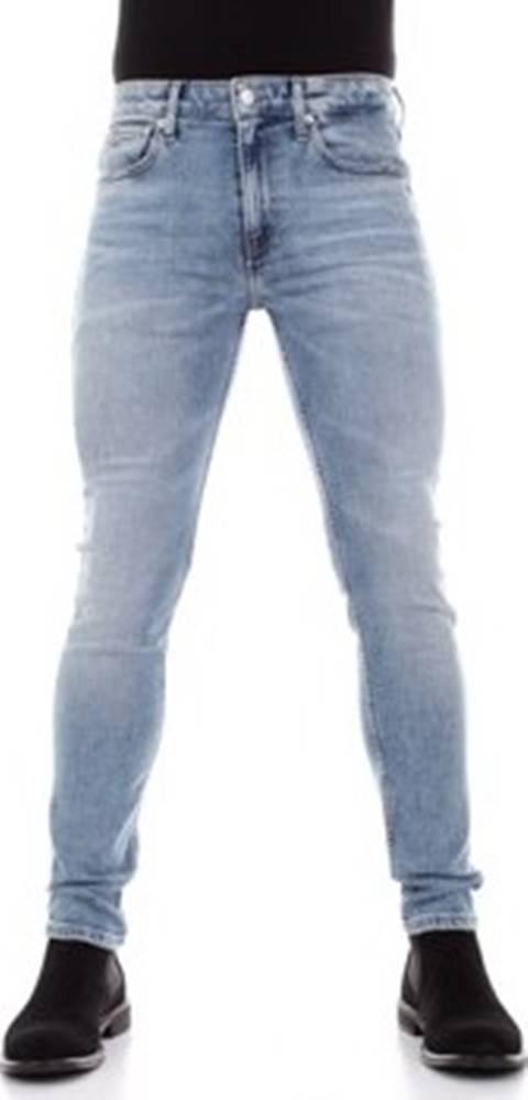 calvin klein jeans Calvin Klein Jeans Rifle slim J30J314591 Modrá
