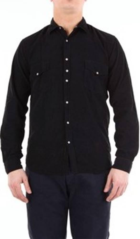 Costumein Costumein Košile s dlouhymi rukáv MARKBERLINO Černá