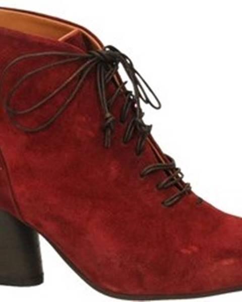 Červené boty Mat:20