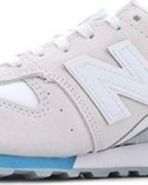 Bílé boty new balance