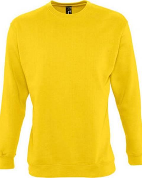 Žlutá mikina Sols