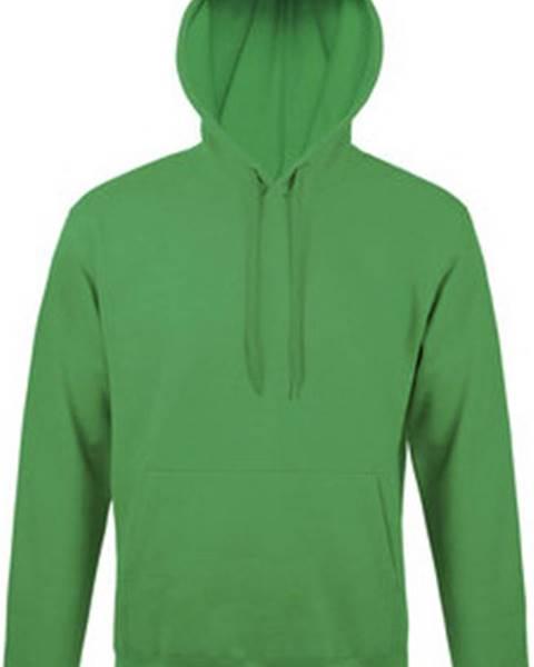 Zelená mikina Sols