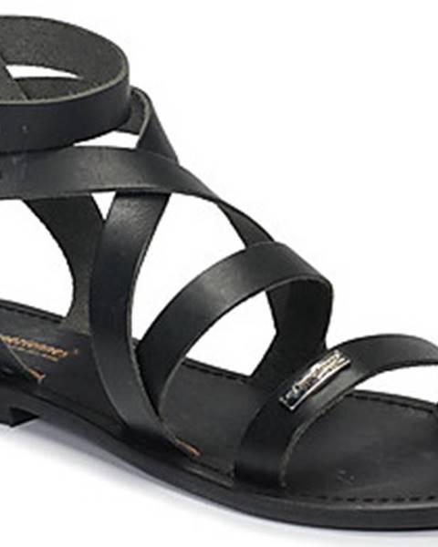 Černé sandály Les Tropéziennes par M Belarbi