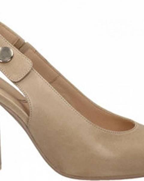 Béžové boty Malù