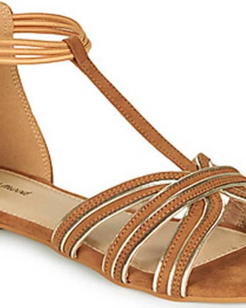 Hnědé sandály Moony Mood