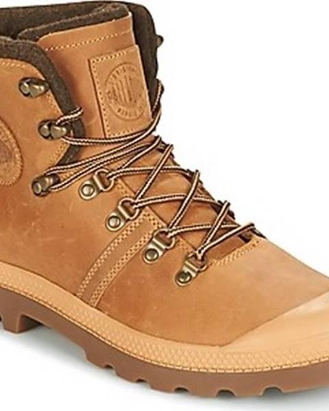 Hnědé boty Palladium